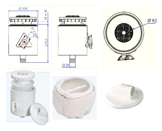 Закладное оборудование для фильтрации